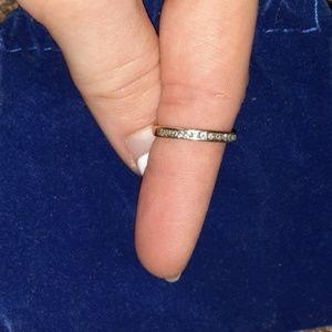 14 k, 13 1/3 kt diamond size 6 ring
